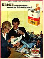 Reklame Werbeanzeige  -  Krone Cigaretten  -  Krone Des Geschmacks  -  Von 1965 - Boeken