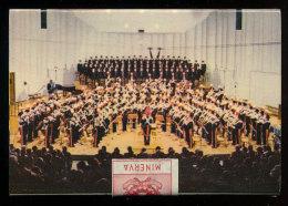 FIAMMIFERI MINERVA CARABINIERI LA BANDA MUSICALE & LA GIOSTRA CAVALLERESCA - Scatole Di Fiammiferi
