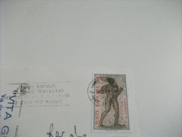 Poste Vaticane  Storia Postale Francobollo Comm.  Roma Arco Costantino - Vatican