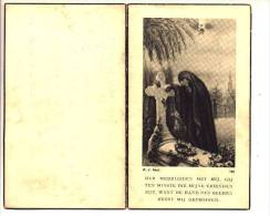 Souvenir Décès Doodsprentje Emile JACOBS Veuf Alodie Maes Biévène (Bever) 1861 - 1947 - Devotion Images