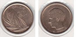 20  FRANCS Baudouin   1980 FL  QUALITE++++++++++++++++++ ++++++++++++ - 1951-1993: Baudouin I