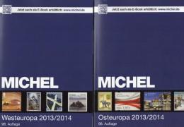 MICHEL Ost/West-Europa Katalog Band 6+7 2013/2014 Neu 120€ Stamps Polska Russia SU Man UK Jersey EIRE B GS NL Lux - Vieux Papiers