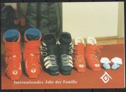 Nations Unies (Vienne) - Carte De Voeux - 1994 - Yvert N° 180 - Centre International De Vienne