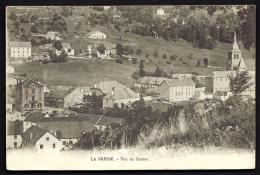 CPA ANCIENNE- FRANCE- LA BRESSE (88)- VUE DU CENTRE DU VILLAGE EN GROS PLAN- EGLISE-  MAIRIE-  FERMES- - Frankreich