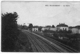 57 RICHEMONT  - La Gare - Autres Communes