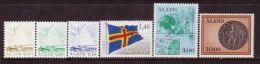 ALAND - Ship / Flag / Map 1984 MNH - Aland