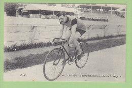 Léon HOURLIER, Vainqueur Six Jours De Paris 1914 Avec  COMES. 2 Scans. Edition C M Malcuit Les Sports - Cyclisme