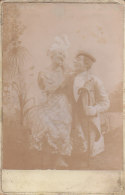 France Photo Véritable HENRI & ROSA BLAVAH? Clown Pitre Cirque Circus Zirkus (2 Scans) - Identifizierten Personen