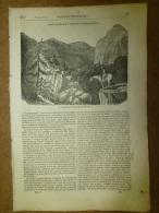 20 Mars.1834  MAGASIN UNIVERSEL: Mémoire Fantastique De L´aveugle ALICK;Tombeau Du Christ;Les Tipules - Kranten