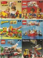 LEGO SYSTEM - Feuillet Unique - DUPLO (0-5) LEGO BASIC (3-12) FABULAND (4-8) LEGO (5-12) LEGO (6-14) Et TECHNIC (7-16) - Lego System