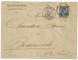 SAGE VIENNE  Isère Sur Devant CHARRETTON NEVEU - 1877-1920: Période Semi Moderne