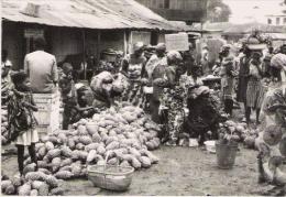 ACCRA (GHANA) CARTE PHOTO  MARCHE (MARKET) - Ghana - Gold Coast