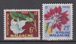Madagascar, Malgache, Malagasy, 1959, Flowers, MNH, *** - Zonder Classificatie