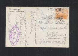 Österreich AK Eisriesenwelt Stempel Werfen - 1918-1945 1a Repubblica