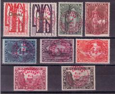 "N°266A/K* ORVAL AVEC FAUX CACHET ROUGE ""JOURNEES PHILATELIQUES/ANVERS/1928 "" - Unused Stamps"
