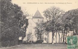 Thematiques 44 Loire Atlantique Guérande Le Château De Tesson Ecrite Timbrée 10 02 1924 - Châteaux