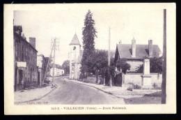 Cpa  Du 89  Villecien Route Nationale .. Joigny Auxerre  HRT13 - Joigny