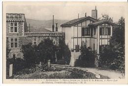 CPA - HENDAYE - MAISON BASQUE …A PIERRE LOTI …. - Edition M.Delboy/ N°117 - Hendaye