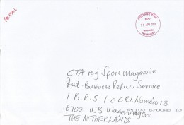Namibia 2013 Windhoek Unfranked Postage Paid Cover - Namibië (1990- ...)