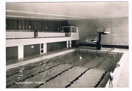 D4205   HERFORD : Hallenbad - Schwimmbad ( Swimmingpool, Piscine) - Herford