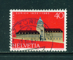 SWITZERLAND - 1983  Zurich University  40c  Used As Scan - Usati