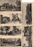 Lot De 6 Cartes, Vue De CHALON SUR SAONE Au XVIII Siècle - Chalon Sur Saone