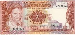 BILLET # SWAZILAND # 1 LILANGEN # 1974 # PICK 1 # NEUF # - Swaziland