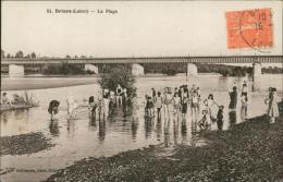45 BRIARE / La Plage / - Briare