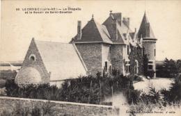 Thematiques 44 Loire Atlantique Le Croisic La Chapelle Et Le Manoir De Saint Goustan - Kastelen
