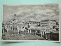 Blick Vom Mutterhaus Der Salvatorianer Auf St. Peter Und Den Vatikan - Anno 19?? ( Zie Foto Voor Details ) !! - Vatican