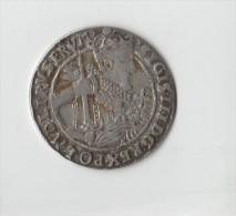 POLOGNE.SIGMOND III 1623 .NR.GROS OU 1/4 THALER.ARGENT. - Polonia