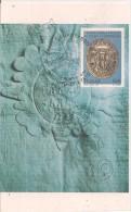 """Campobasso - Civico Sigillo Cartaceo - Archivio Di Stato    """"MAXIMUM  CARD"""" - Cartoline"""
