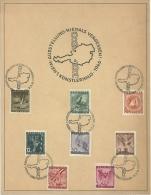 Ausstellung NIEMALS VERGESSEN, Mi 776-83 Auf Sonderblatt - 1945-.... 2. Republik