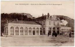 Besançon - Gare De La Mouillère Et Fort Beauregard - Besancon