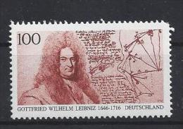 Germany 1996  Gottfried Wilhelm Leibniz  (**) MNH  Mi.1865 I - [7] Federal Republic