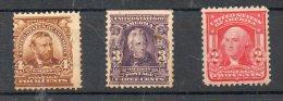 N° 158+ 146+147 Neufs Sans Charnieres**etat Assez Bon - Unused Stamps
