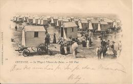 Oostende-Ostende-La Plage à L'Heure Des Bains (édit: Godtfurneau, Libraire, Ostende) - Oostende