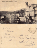 CUNARDO VARESE PALAZZO MUNICIPALE E LA CHIESA - FP VIAGGIATA - Varese
