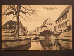CPA Weissenburg (Allemagne) - Weissenburg I/Els. - Bruchbrücke - Weissenburg