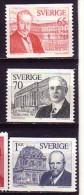 Suède 1974  Y&T  867/69  N** - Sweden