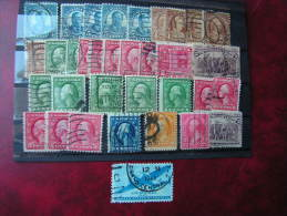 == USA Old Lot - Timbres