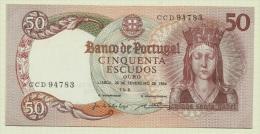 PORTUGAL Portuguese 50 Escudos 1964 UNC - Portugal