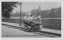 75 Les Petits Métiers Parisiens La Marchande Des Quatre Saisons  Reproduction N° 47 - Petits Métiers à Paris