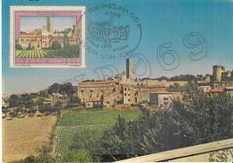 """Tarquinia - Azienda Autonoma Di Soggiorno E Turismo Dell'Etruria Meridionale   """"MAXIMUM  CARD"""" - Cartoline"""