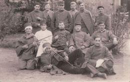 CARTE PHOTO BAYONNE Le 28 Décembre 1914 Hôpital Militaire - Bayonne