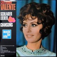 * LP *  CATERINA VALENTE - SCHLAGER, LIEDER UND CHANSONS (Germany 1968) - Vinyl-Schallplatten