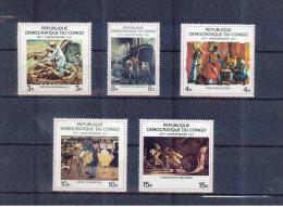 KONGO , Dem.Rep.. CONGO  , ** , Mnh , Postfrisch ,   Mi.Nr, 354 - 358 - Dem. Republik Kongo (1964-71)