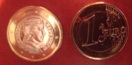 Latvia / Lettonia / Lettland   2014 EURO COIN   1 Euro  FROM Bank Roll - UNC - Lettland