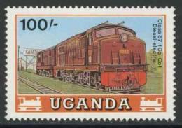 Uganda 1988 Mi 576 ** Class 87 1Co-Co1 Diesel-electric Locomotive / Diesellokomotive Class 87 1Co-Co1 - Treinen