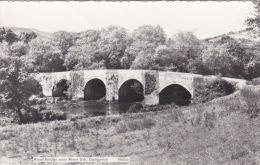 LLANGYNIDR -ROAD BRIDGE OVER RIVER USK - Breconshire